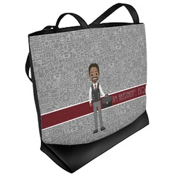 Lawyer / Attorney Avatar Beach Tote Bag (Personalized)