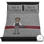 Lawyer / Attorney Avatar Duvet Covers (Personalized)