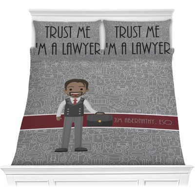 Lawyer / Attorney Avatar Comforters (Personalized)