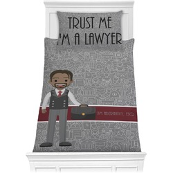 Lawyer / Attorney Avatar Comforter Set - Twin XL (Personalized)