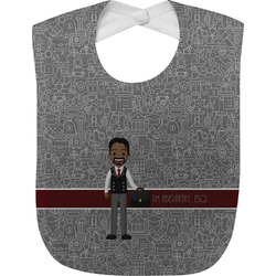 Lawyer / Attorney Avatar Baby Bib (Personalized)