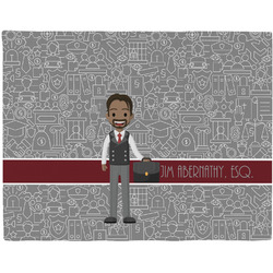 Lawyer / Attorney Avatar Placemat (Fabric) (Personalized)