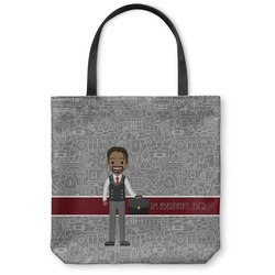 Lawyer / Attorney Avatar Canvas Tote Bag (Personalized)