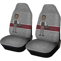 Lawyer / Attorney Avatar Car Seat Covers (Set of Two) (Personalized)