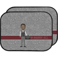 Lawyer / Attorney Avatar Car Floor Mats (Back Seat) (Personalized)