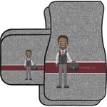 Lawyer / Attorney Avatar Car Floor Mats (Personalized)