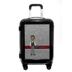 Lawyer / Attorney Avatar Carry On Hard Shell Suitcase (Personalized)