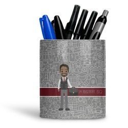 Lawyer / Attorney Avatar Ceramic Pen Holder