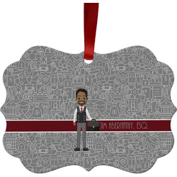 Lawyer / Attorney Avatar Ornament (Personalized)