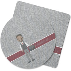 Lawyer / Attorney Avatar Rubber Backed Coaster (Personalized)