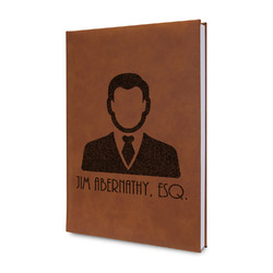 Lawyer / Attorney Avatar Leatherette Journal (Personalized)