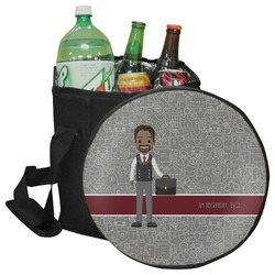 Lawyer / Attorney Avatar Collapsible Cooler & Seat (Personalized)