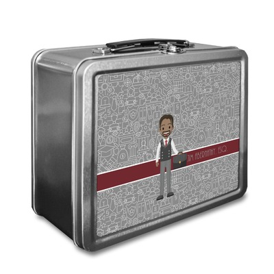 Lawyer / Attorney Avatar Lunch Box (Personalized)
