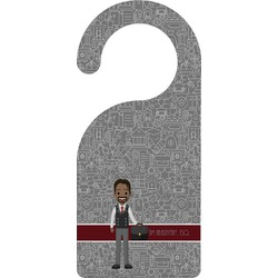 Lawyer / Attorney Avatar Door Hanger (Personalized)