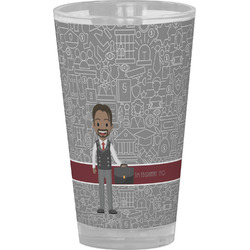 Lawyer / Attorney Avatar Drinking / Pint Glass (Personalized)