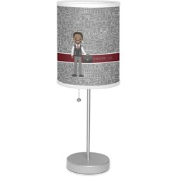 "Lawyer / Attorney Avatar 7"" Drum Lamp with Shade (Personalized)"