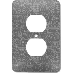 Lawyer / Attorney Avatar Electric Outlet Plate (Personalized)