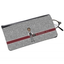 Lawyer / Attorney Avatar Genuine Leather Eyeglass Case (Personalized)