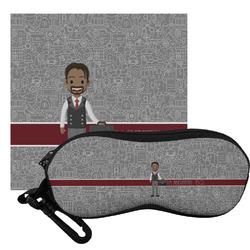 Lawyer / Attorney Avatar Eyeglass Case & Cloth (Personalized)