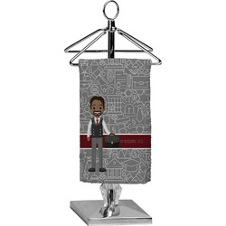 Lawyer / Attorney Avatar Finger Tip Towel - Full Print (Personalized)
