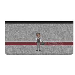 Lawyer / Attorney Avatar Genuine Leather Checkbook Cover (Personalized)