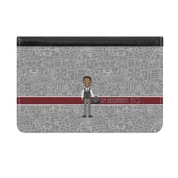 Lawyer / Attorney Avatar Genuine Leather ID & Card Wallet - Slim Style (Personalized)
