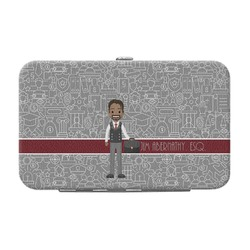 Lawyer / Attorney Avatar Genuine Leather Small Framed Wallet (Personalized)