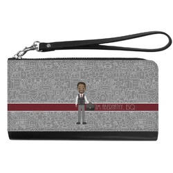 Lawyer / Attorney Avatar Genuine Leather Smartphone Wrist Wallet (Personalized)