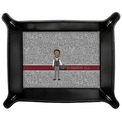 Lawyer / Attorney Avatar Genuine Leather Valet Tray (Personalized)