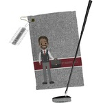 Lawyer / Attorney Avatar Golf Towel Gift Set (Personalized)