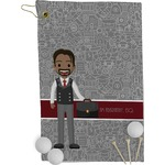 Lawyer / Attorney Avatar Golf Towel - Full Print (Personalized)