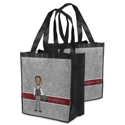 Lawyer / Attorney Avatar Grocery Bag (Personalized)