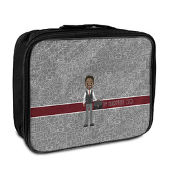 Lawyer / Attorney Avatar Insulated Lunch Bag (Personalized)