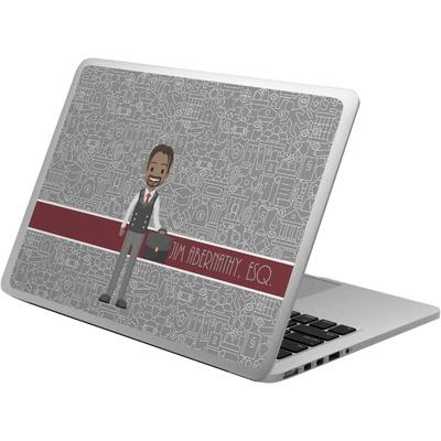 Lawyer / Attorney Avatar Laptop Skin - Custom Sized (Personalized)