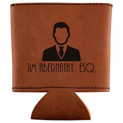 Lawyer / Attorney Avatar Leatherette Can Sleeve (Personalized)