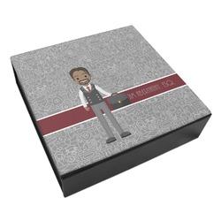 Lawyer / Attorney Avatar Leatherette Keepsake Box - 3 Sizes (Personalized)