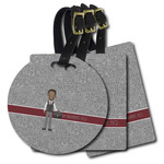 Lawyer / Attorney Avatar Plastic Luggage Tags (Personalized)