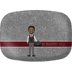 Lawyer / Attorney Avatar Melamine Platter (Personalized)