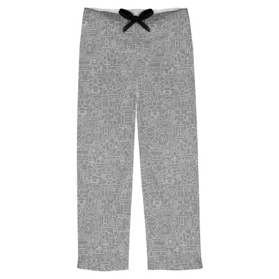 Lawyer / Attorney Avatar Mens Pajama Pants (Personalized)