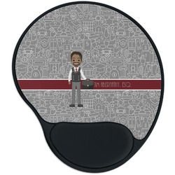 Lawyer / Attorney Avatar Mouse Pad with Wrist Support