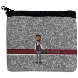 Lawyer / Attorney Avatar Rectangular Coin Purse (Personalized)