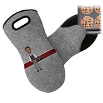 Lawyer / Attorney Avatar Neoprene Oven Mitt (Personalized)