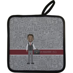 Lawyer / Attorney Avatar Pot Holder (Personalized)