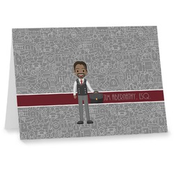 Lawyer / Attorney Avatar Notecards (Personalized)
