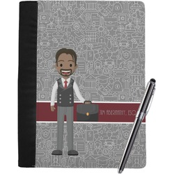 Lawyer / Attorney Avatar Notebook Padfolio (Personalized)