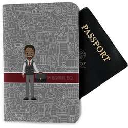 Lawyer / Attorney Avatar Passport Holder - Fabric (Personalized)