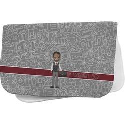 Lawyer / Attorney Avatar Burp Cloth (Personalized)