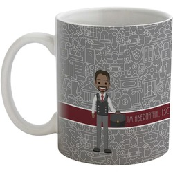 Lawyer / Attorney Avatar Coffee Mug (Personalized)