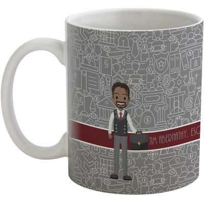Lawyer / Attorney Avatar Coffee Mug (Personalized)