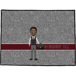 Lawyer / Attorney Avatar Door Mat (Personalized)